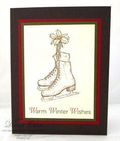 Warm Winter Wishes - MDS Hybrid Card