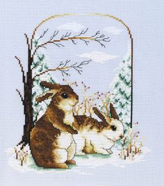 Snow Bunnies - Crafts 'n things