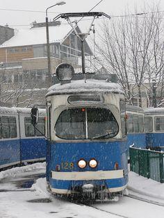 old tram, Kraków
