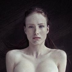 portrait photography, red hair, art, oblivion, germany, redhead, freckles, redhair, medium
