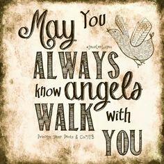 Angels walking w/U