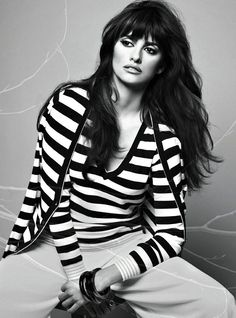 penelope cruz and her gorgeous hair