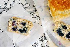 blueberry breakfast loaf