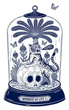T-shirt illustration…