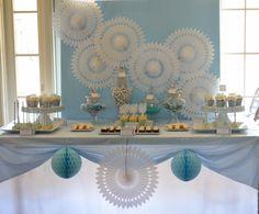First Communion Dessert Table