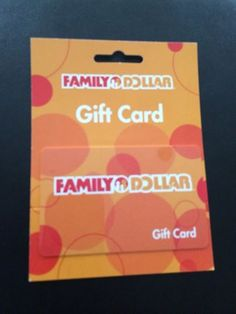 Family Dollar Giveaway
