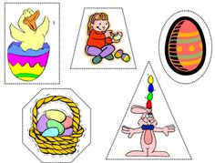 Easter - foundation activities. Match the number of bunnies with the number on the Easter egg with this themed activity.