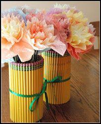 Ceruzás váza - Pencil vase