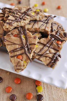 peanut butter cookie bark recipe
