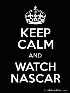NASCAR calm!