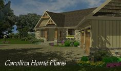 Craftsman style, open floor plan MS-2379-AC with convenient 1-story living.