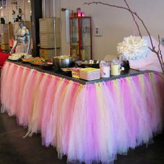 colors or to suit a boy tulle skirts girls baby shower ideas girl