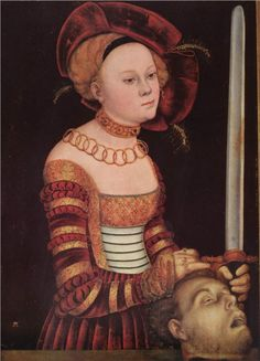 Judith with the head of Holofernes  Lucas Cranach the Elder