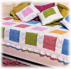 Innovart crochet: crochet Deco ... crochet afghans, afghan pattern