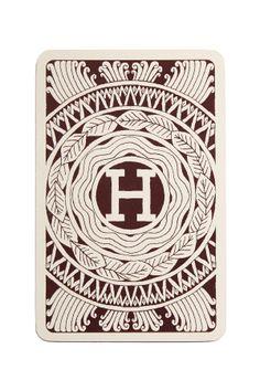 Vintage Hermes Playing Cards