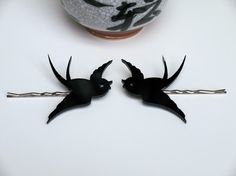 swallow hair pins