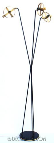 Lunel French Modernist Floor Lamp  Circa 1950's, France