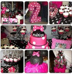 ingrid bday, little girl parties, birthday parties, collag, 2nd bday, 2nd birthday, minnie mouse second birthday, mous parti, birthday ideas