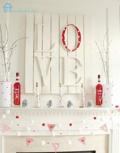 14 DIY Valentine's Day Decor Ideas