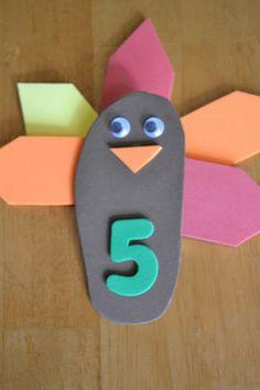 Mamas Like Me: Turkey Math for #Preschool #Thanksgiving