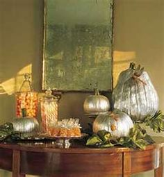 elegant autumn table