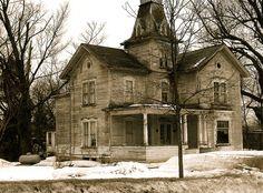 Abandoned house in northwestern New York