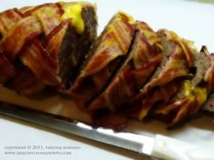 cheeseburgers, low carb, bacon roll, lowcarb, food, beef, cheeseburg bacon, bacon cheeseburg, bacon weave meatloaf