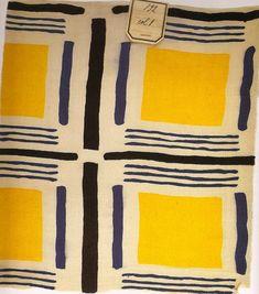 Sonia Delaunay textile