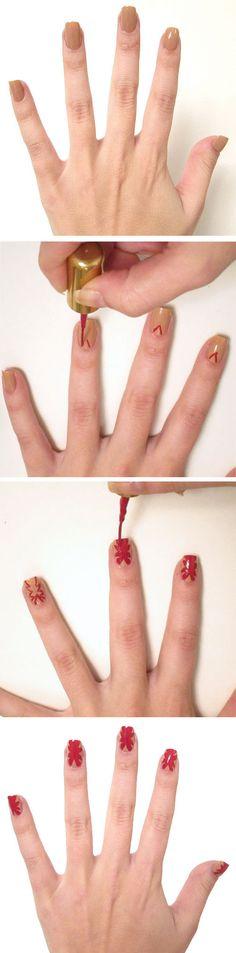 Jill Stuart runway-inspired nail art tutorial