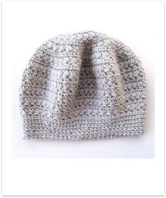 crochet ( star stitch) beret
