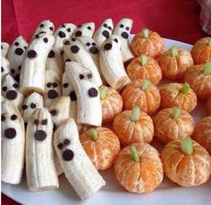 Fun halloween food, this would be great for a school party