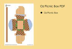 Printable Templates Oz Picnic Basket Box