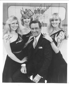 Bob Barker with Dian, Holly & Janice..... Barker Beauties