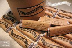 """""""Regalá Recuerdos"""": caja con chocolates para regalarle a cada invitado la experiencia de tomar un submarino calentito en una tarde fría de invierno."""