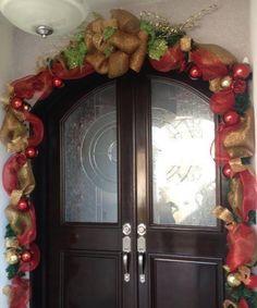 Adorno puerta principal