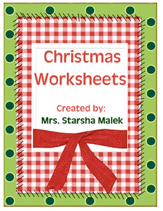 FREE Christmas Cut and Paste Activities - ABC order, Doubles, etc.