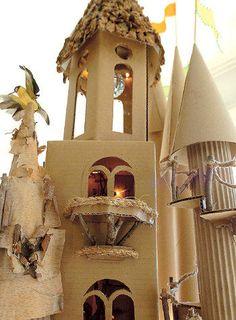 cardboard palac, castle2 gpjpg, papercraft castl, castles, cardboard castle2