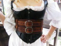 warrior, corset belt, halloween costumes, corsets, leather