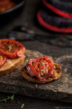 Quickly Roasted Tomatoes With Balsamic Vinegar Recipe | Foodienarium