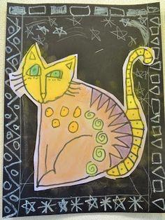 Laurel Burch Cat Art Project