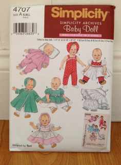 Baby doll clothes patterns - Doll-knitting by Målfrid Gausel