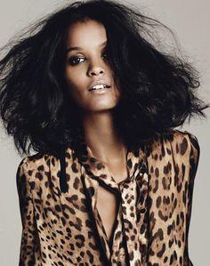 Leopard n hair