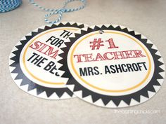 Simply the Best Teacher Tags