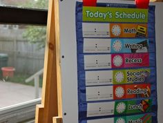 Creating+a+visual+schedule+for+kids