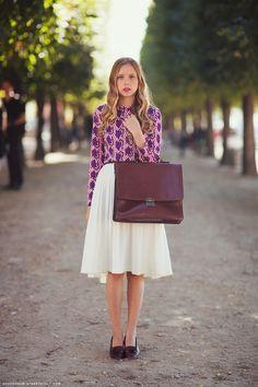 Midi skirt done right