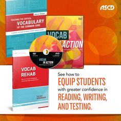"""In this DVD, """"Vocab in Action: Critical Vocabulary Strategies for Your Classroom,"""" ASCD author Marilee Sprenger visits schools that use smart, fun, and engaging strategies to build students' vocabulary and boost their knowledge of the key words they need to know for success with the Common Core State Standards."""