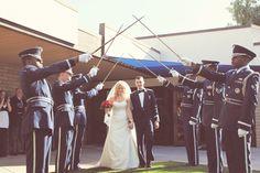 airforce wedding♥