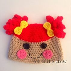 You Never Know by Andrea VanHooser Womack: Lalaloopsy Inspired Hat Version 2