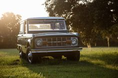 Another sunset Early Bronco