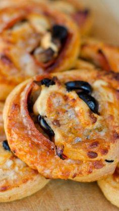 Super Skinny Pizza Pinwheels Recipes — Dishmaps
